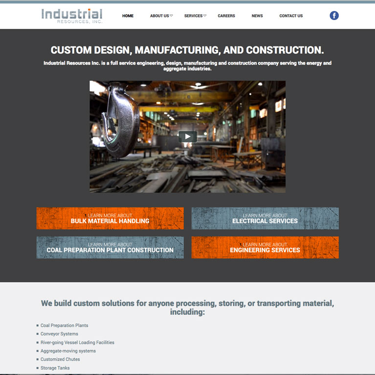 Industrial Resources Featured Inbound Work