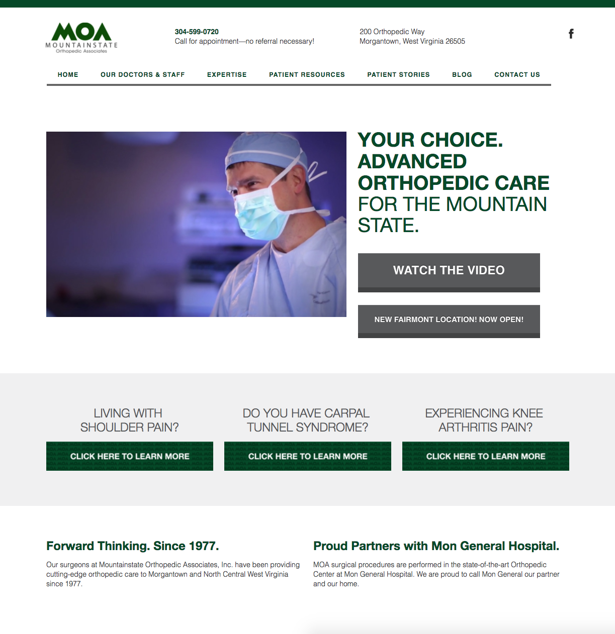 Mountainstate Orthopedics Featured Inbound Work.png