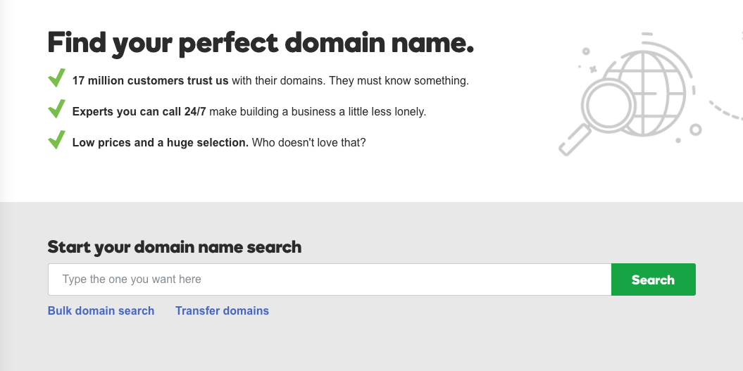 Picking a domain