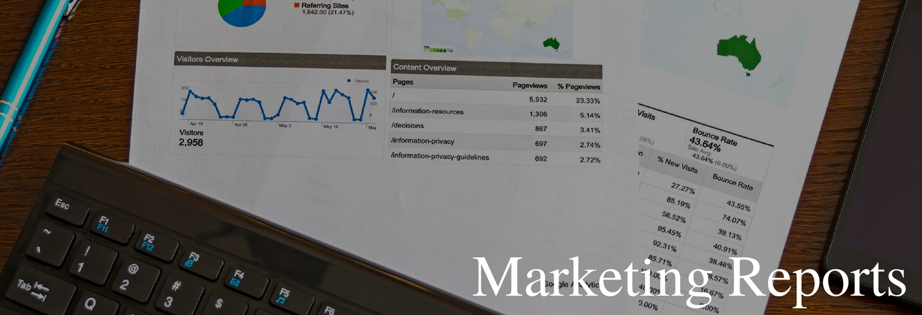 Why a Monthly Marketing Report is Important for Your Business